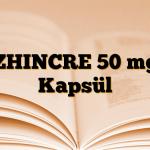 ZHINCRE 50 mg Kapsül
