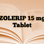 ZOLERIP 15 mg Tablet