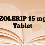 ZOLERIP 15 mg Tablet