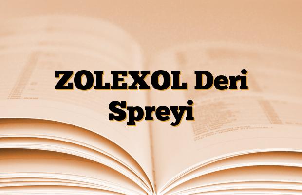 ZOLEXOL Deri Spreyi