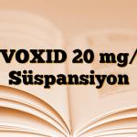 ZYVOXID 20 mg/ml Süspansiyon