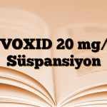 ZYVOXID 20 mg/ml Süspansiyon
