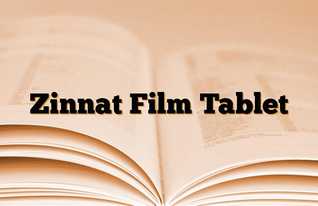 Zinnat Film Tablet