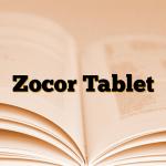 Zocor Tablet