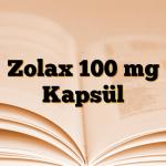 Zolax 100 mg Kapsül