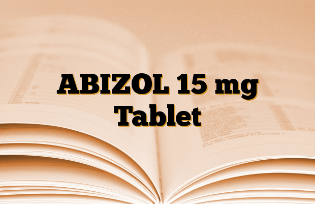 ABIZOL 15 mg Tablet