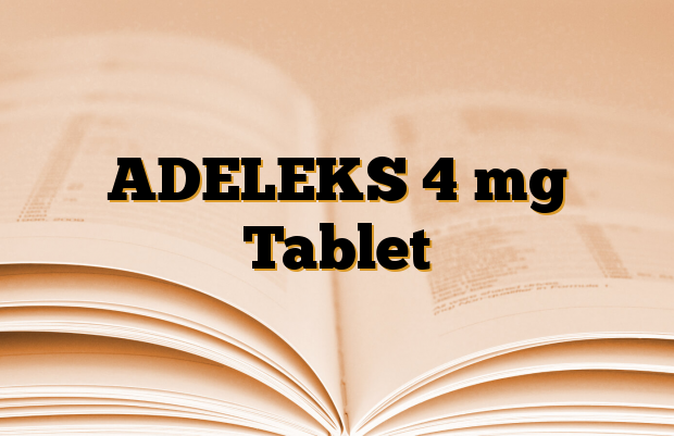 ADELEKS 4 mg Tablet
