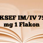 AKSEF IM/IV 750 mg 1 Flakon