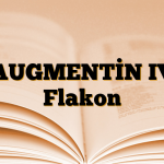 AUGMENTİN IV Flakon