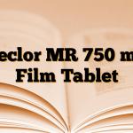 Ceclor MR 750 mg Film Tablet