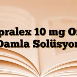 Cipralex 10 mg Oral Damla Solüsyon
