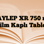 DAYLEP XR 750 mg Film Kaplı Tablet
