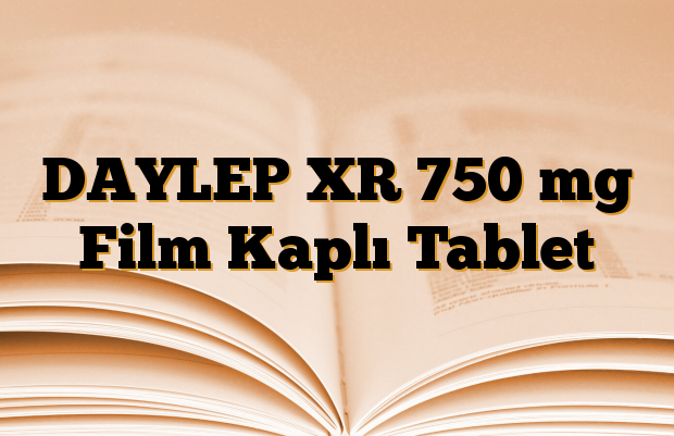 DAYLEP XR 750 mg Film Kaplı Tablet