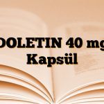 DOLETIN 40 mg Kapsül