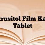 Detrusitol Film Kaplı Tablet