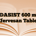 EDASIST 600 mg Efervesan Tablet