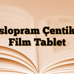 Eslopram Çentikli Film Tablet