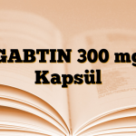 GABTIN 300 mg Kapsül