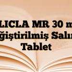 GLICLA MR 30 mg Değiştirilmiş Salımlı Tablet