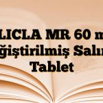 GLICLA MR 60 mg Değiştirilmiş Salımlı Tablet