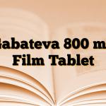 Gabateva 800 mg Film Tablet