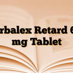Karbalex Retard 600 mg Tablet