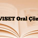 LEVISET Oral Çözelti