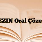 LEZIN Oral Çözelti