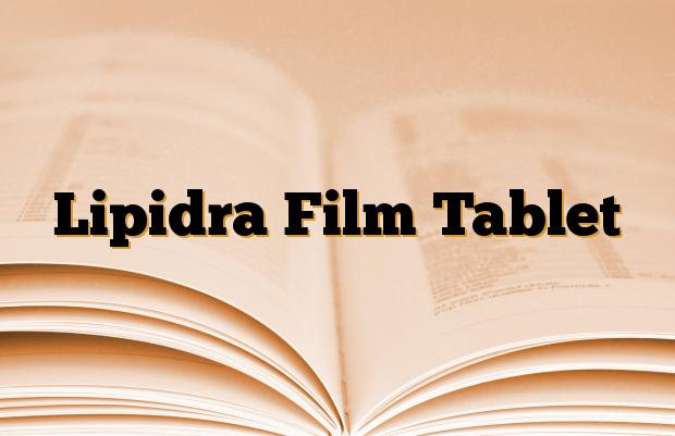 Lipidra Film Tablet