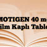 MOTIGEN 40 mg Film Kaplı Tablet