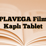 PLAVEGA Film Kaplı Tablet