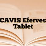 RICAVIS Efervesan Tablet