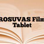 ROSUVAS Film Tablet