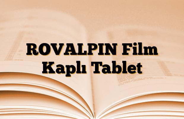 ROVALPIN Film Kaplı Tablet