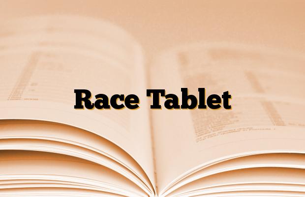 Race Tablet