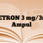 SETRON 3 mg/3ml Ampul
