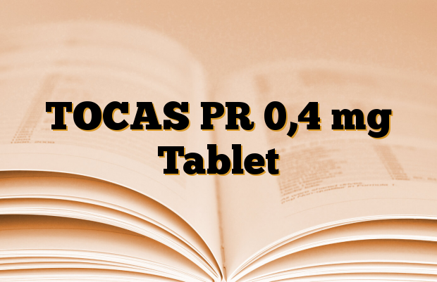TOCAS PR 0,4 mg Tablet
