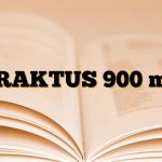 TRAKTUS 900 mg