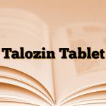 Talozin Tablet