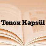 Tenox Kapsül