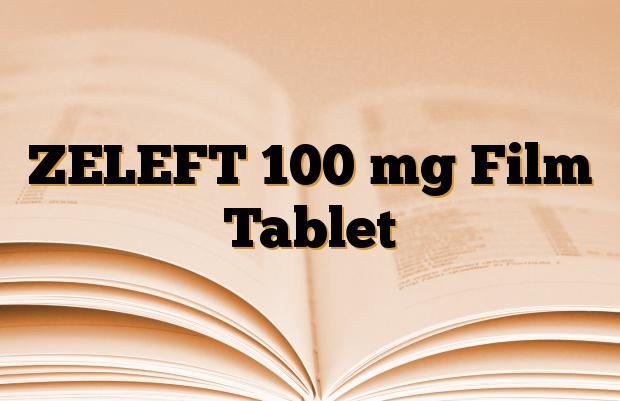 ZELEFT 100 mg Film Tablet