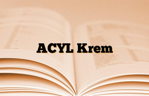 ACYL Krem