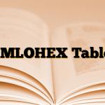 AMLOHEX Tablet