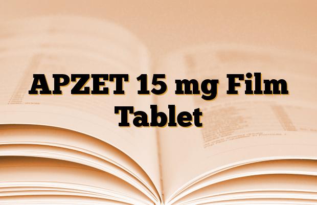 APZET 15 mg Film Tablet