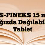 AS-PINEKS 15 mg Ağızda Dağılabilir Tablet
