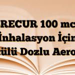BRECUR 100 mcg İnhalasyon İçin Ölçülü Dozlu Aerosol