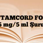 BUTAMCORD FORT 15 mg/5 ml Şurup