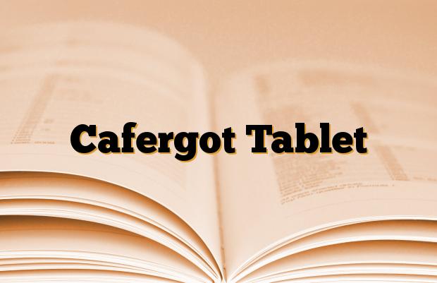 Cafergot Tablet