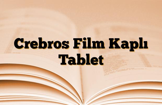 Crebros Film Kaplı Tablet