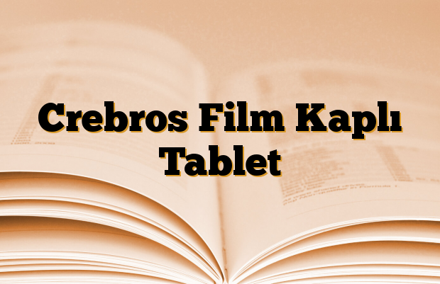 Crebros Film Kaplı Tablet